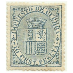 (142) 1874. 10 Céntimos de Peseta