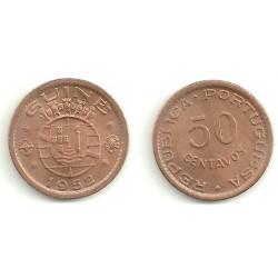 (8) Guinea-Bissau. 1952. 50 Centavos (SC)