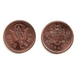 (10.a) Barbados. 2008. 1 Cent (SC)