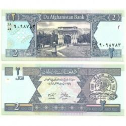 (65a) Afganistán. 2002. 2 Afghanis (SC)