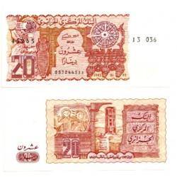 (133) Algeria. 1983. 20 Dinars (SC)