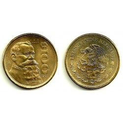 (493) Estados Unidos Mexicanos. 1991. 100 Pesos (SC)