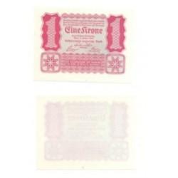(73) Austria-Hungria. 1922. 1 Krone (SC)