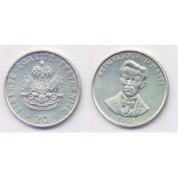 (152) Haití. 1991. 20 Centimes (SC)