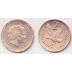 (131) Islas Malvinas. 2004. 2 Pence (SC)