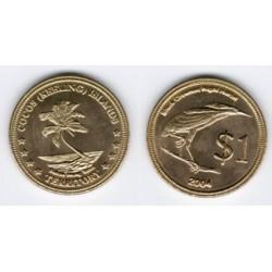 (2004) Islas Cocos. 2004. 1 Dollar (SC)