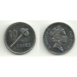 Islas Fiji. 2000. 10 Cents (SC)
