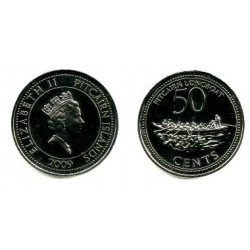 Islas Pitcairn. 2009. 50 Cents (SC)