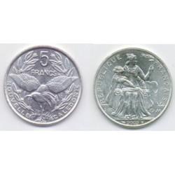(16) Nueva Caledonia. 2002. 5 Francs (SC)