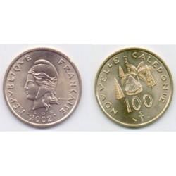 (15) Nueva Caledonia. 2002. 100 Francs (SC)