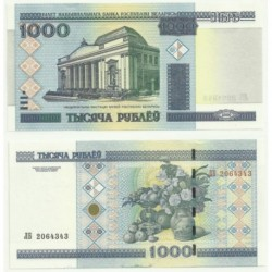 (28.b) Bielorrusia. 2000. 1000 Rublei (SC)