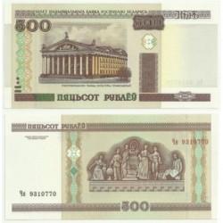 (27) Bielorrusia. 2000. 500 Rublei (SC)
