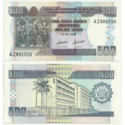 Burundi. 2009. 500 Francs (SC)