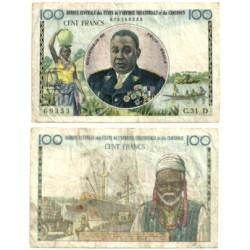(32) Camerún. 1957. 100 Francs (MBC)