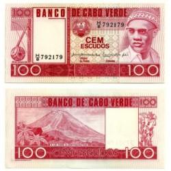 (54) Cabo Verde. 1977. 100 Escudos (SC)