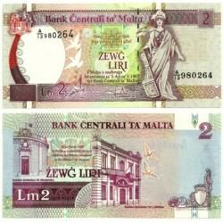 (45) Malta. 1994. 2 Liri (SC)