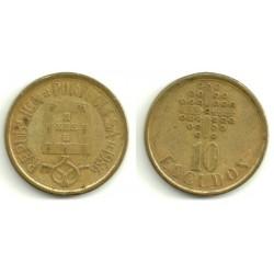 (633) Portugal. 1986. 10 Escudos (BC)