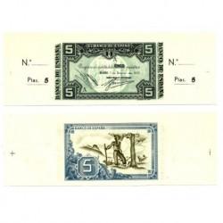[1937] Billete de 5 Pesetas (SC).