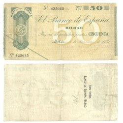 [1936] Billete de 50 Pesetas (BC).