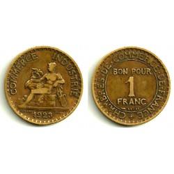 (23) Francia. 1923. 2 Francs (MBC-)