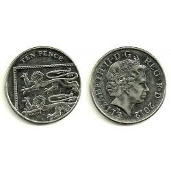 Gran Bretaña. 2012. 10 Pence (SC)