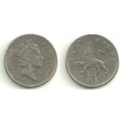 (938b) Gran Bretaña. 1992. 10 Pence (BC)