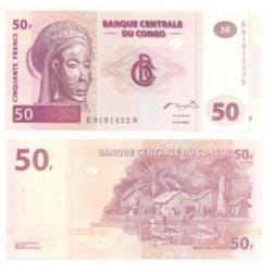 (91) Congo. 2000. 50 Francs (SC)