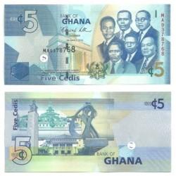 (2010) Ghana. 2010. 5 Cedis (SC)