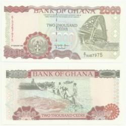 (30.b) Ghana. 1996. 2000 Cedis (SC)