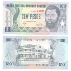 Guinea-Bissau. 1990. 100 Pesos (SC)