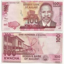 Malaui. 2012. 100 Kwacha (SC)