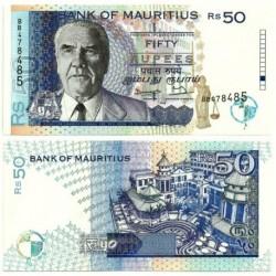 (43) Mauricio. 1998. 50 Rupees (SC)