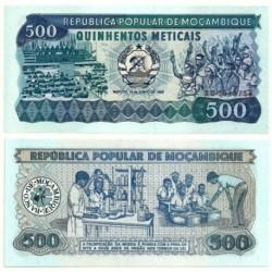 (131a) Mozambique. 1983. 500 Meticais (SC)