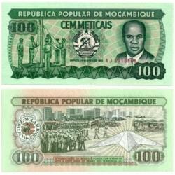 (13a) Mozambique. 1983. 100 Meticais (SC)