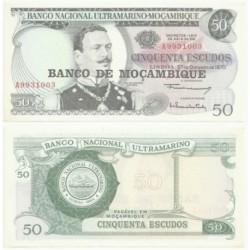 (116) Mozambique. 1976. 50 Escudos (EBC)