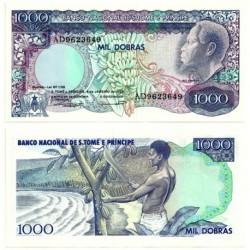 (62) Santo Tomé y Principe. 1989. 1000 Dobras (SC)