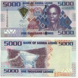 Sierra Leona. 2010. 5000 Leones (SC)